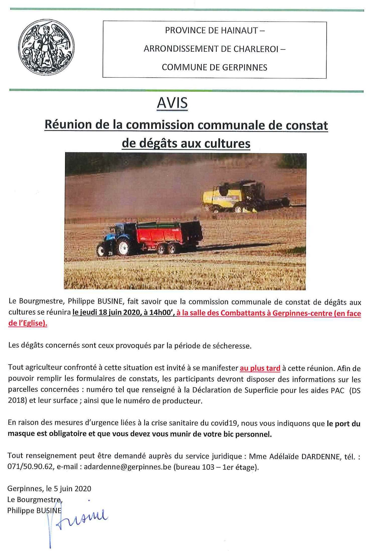 COMMISSION AGRICOLE