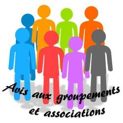 Avis important aux groupements et associations
