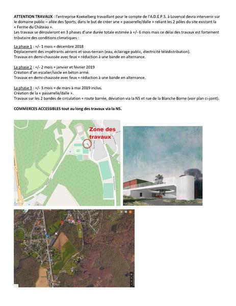 travaux rue des Sports 122018   052019