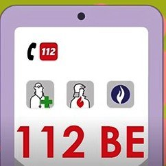 Sauvez des vies en téléchargeant l'app 112 BE