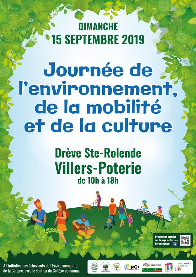 Affiche journée Environnement Culture 2019 WEB