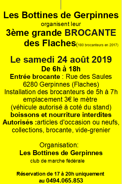 brocante les bottines