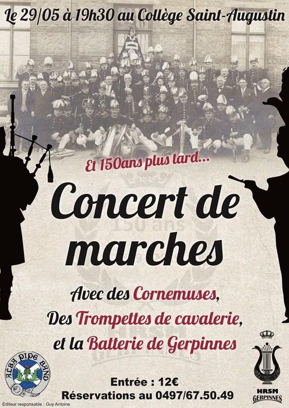 Concert de marche HRSM 2019