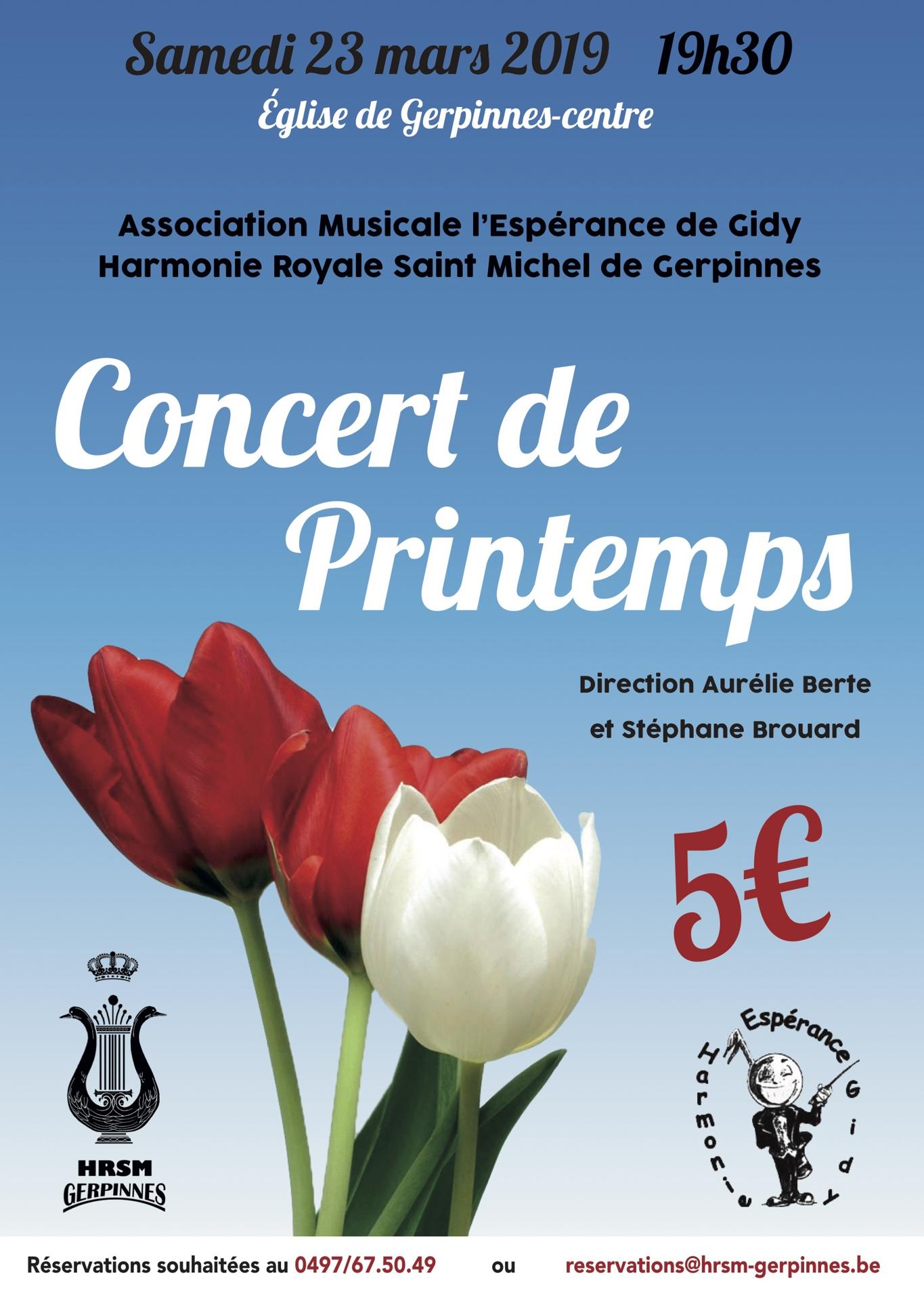 Concert Printemps 2019 hrsm
