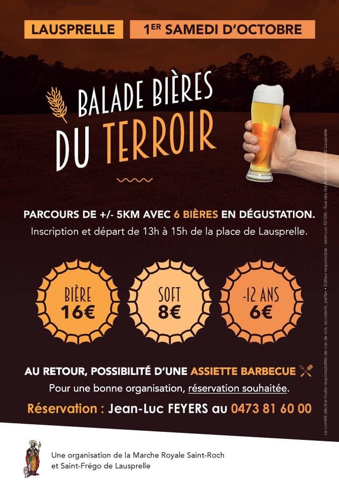 FLYER Balade Bières du Terroir LAUSPRELLE