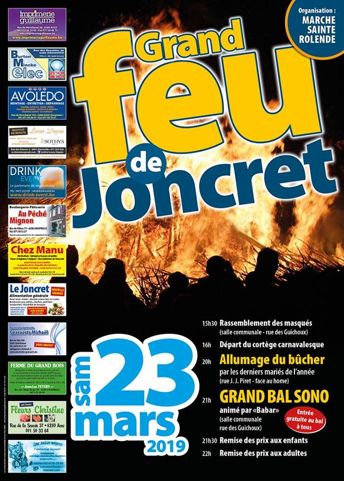 grand feu de joncret
