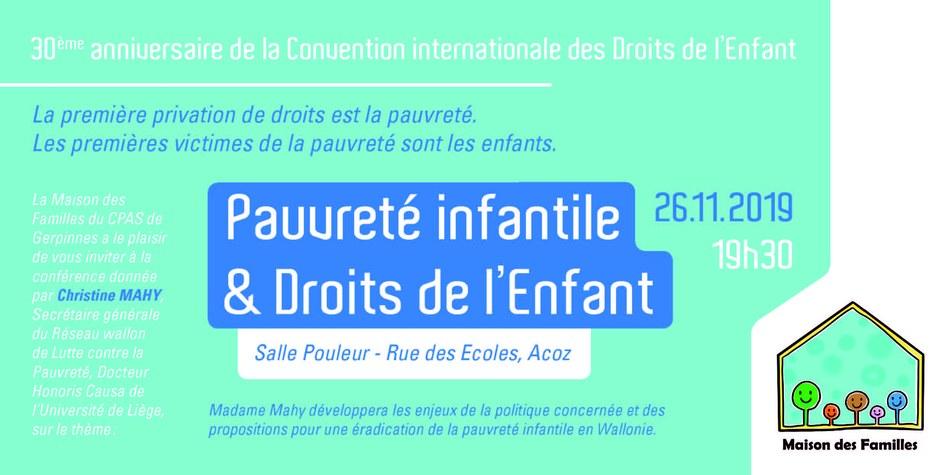 INVITATION PAUVRETE INFANTILE (002) Page 1