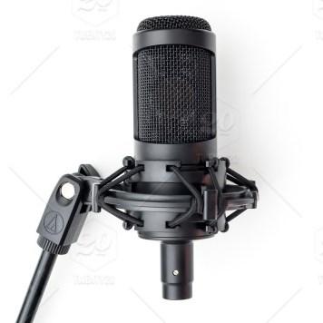 stock photo black white studio singing audio sound microphone micro song e07b0048 915f 4f45 a063 3cbc919a6eb1