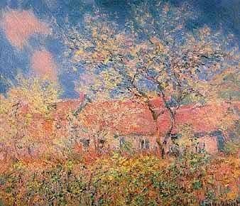 La nature C Monet